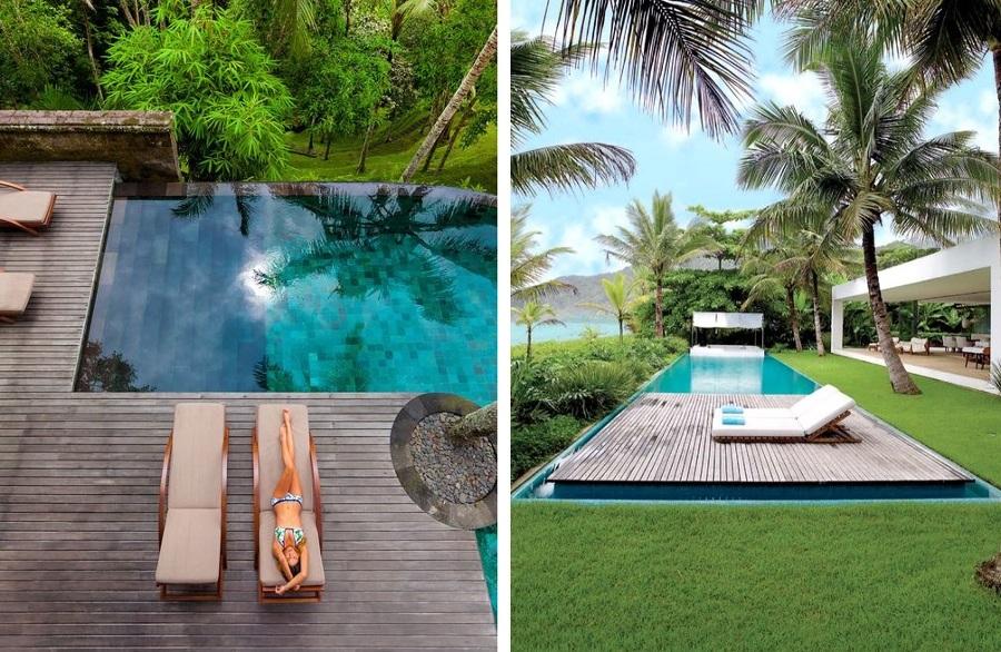 elige las mejores tumbonas para tu piscina ideas decoradores