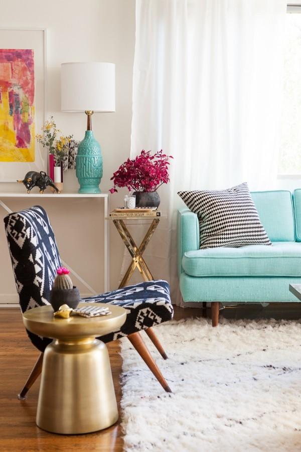 Muebles turquesa