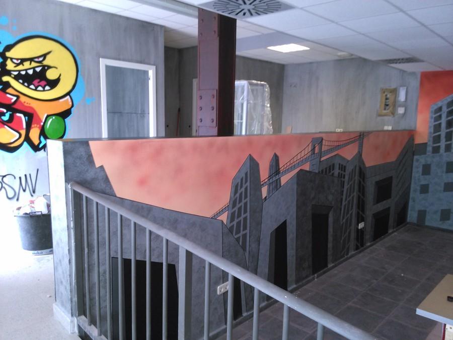 Mural acabado