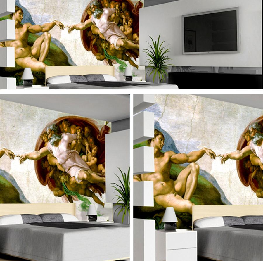 Pintura decorativa mural de salones y habitaciones ideas - Oleos para dormitorios ...
