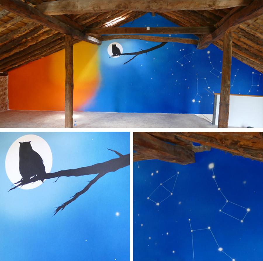 Mural Centro de Interpretación de la naturaleza