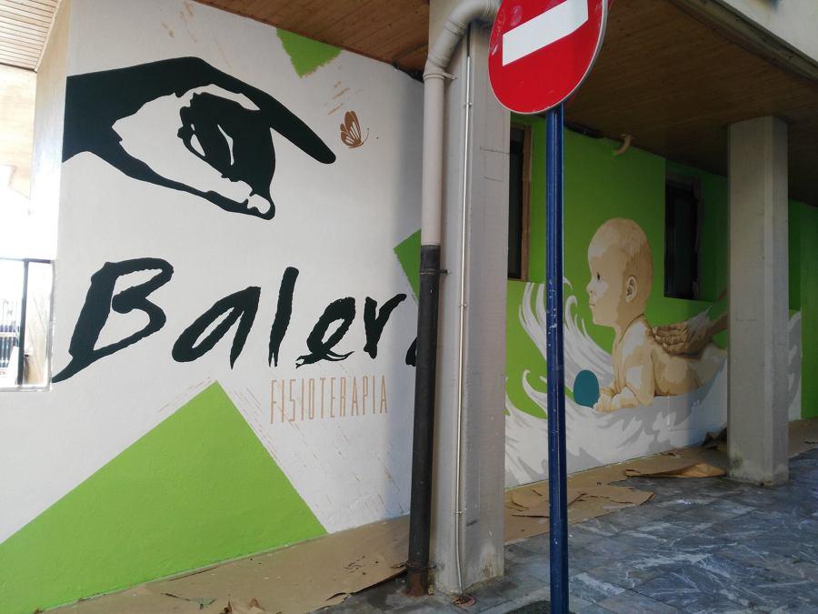 Mural fisioterapeuta