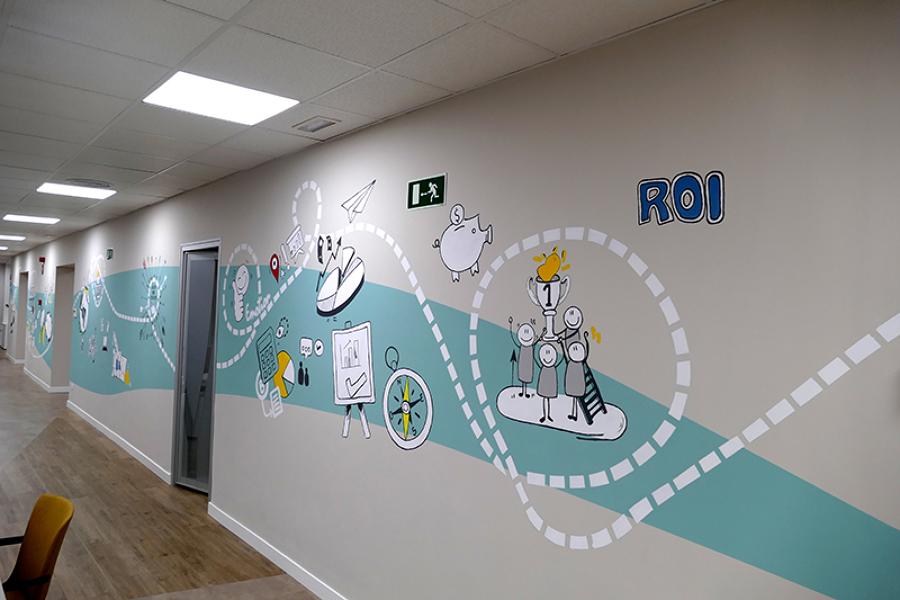 Mural oficina TCC