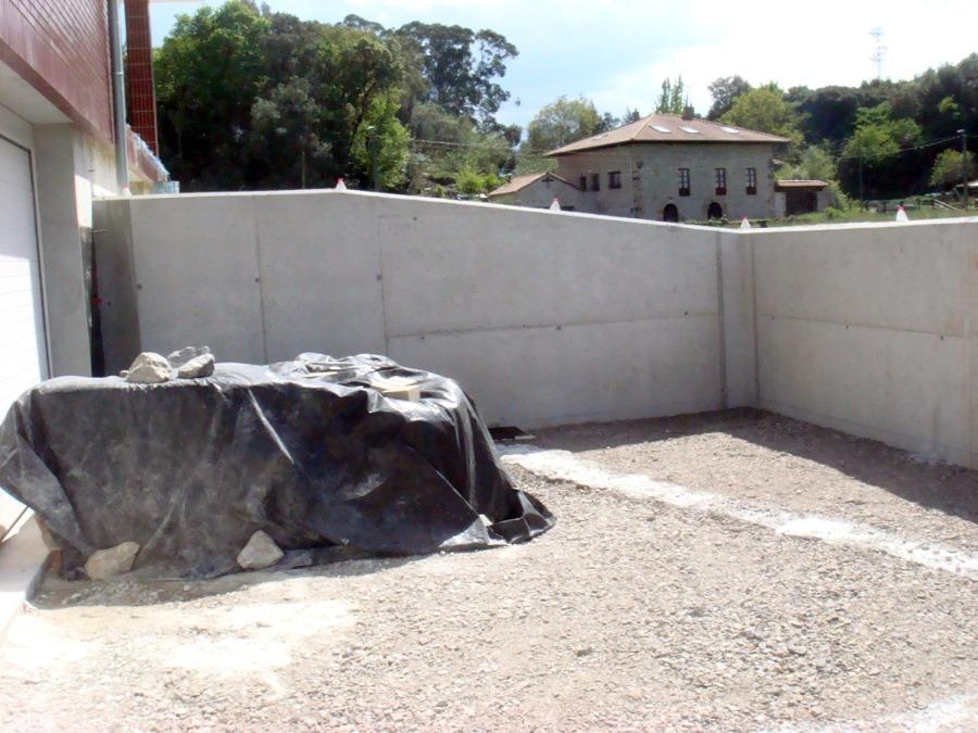 muro contencion visto