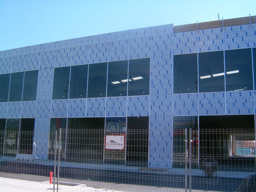 muro cortina panel composite