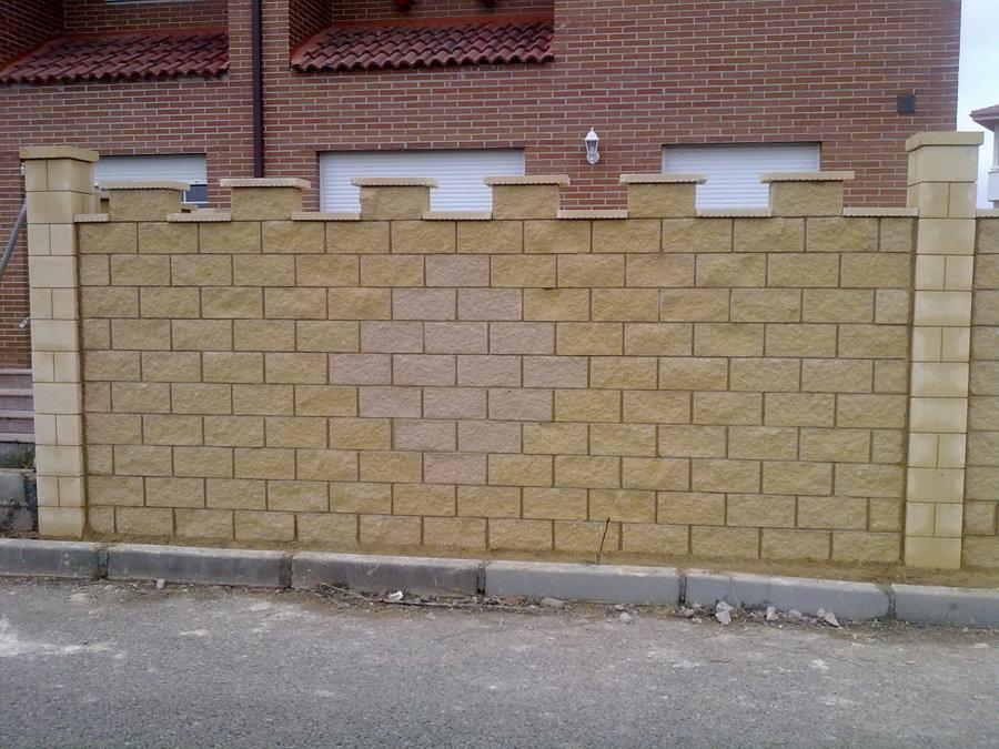muro de bloque