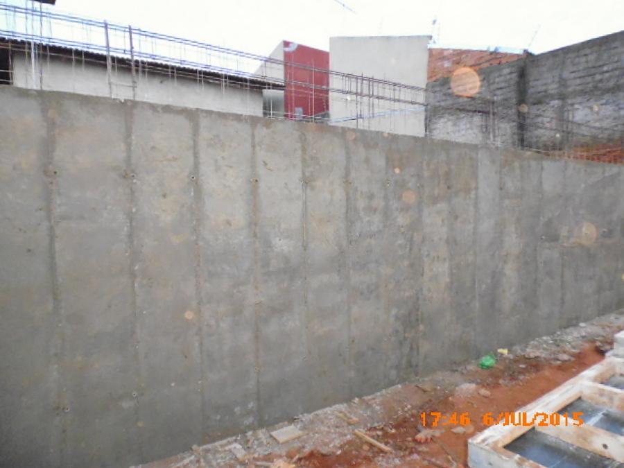 Muro de contencion de hormigon armado ideas construcci n casas - Muros de hormigon ...