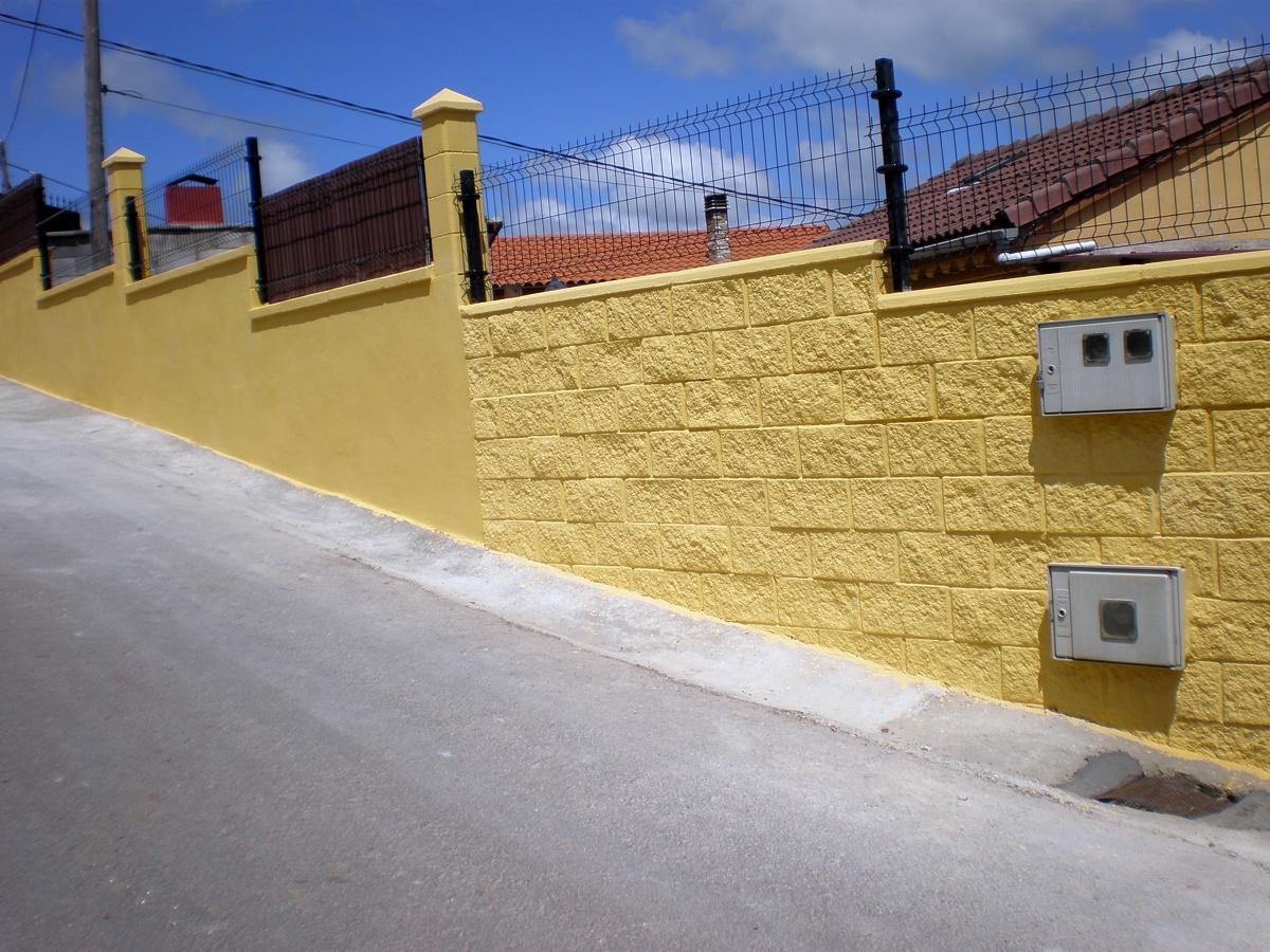 Cierre de finca en illas ideas construcci n muros - Muros de hormigon ...