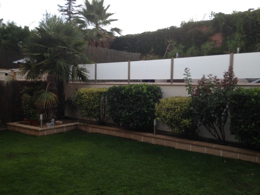 muro de jardinera