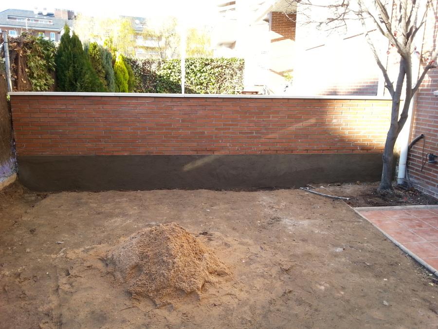 Muro de ladrillo visto ideas construcci n muros - Muros de ladrillo visto ...