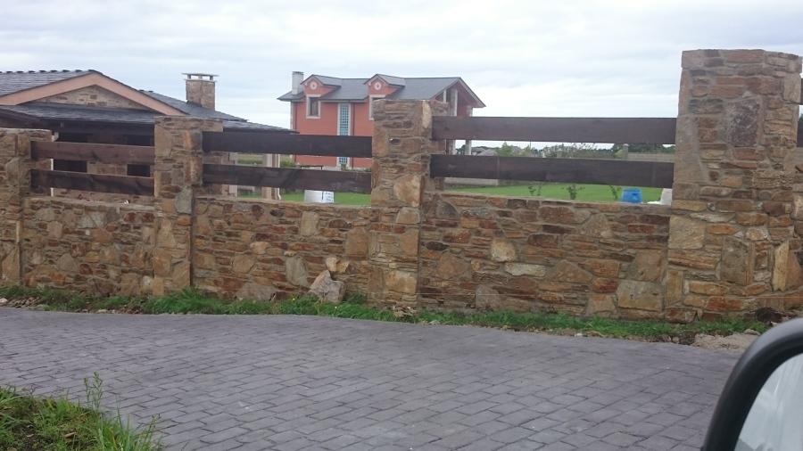 Muro de piedra natural ideas construcci n muros - Colocar piedra natural ...