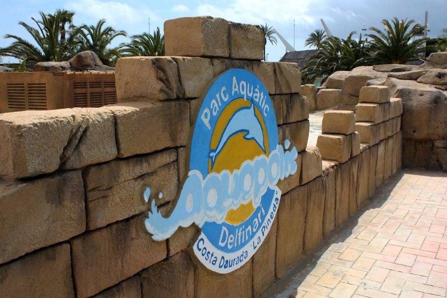 Muro En Roca Artificial Con Logotipo