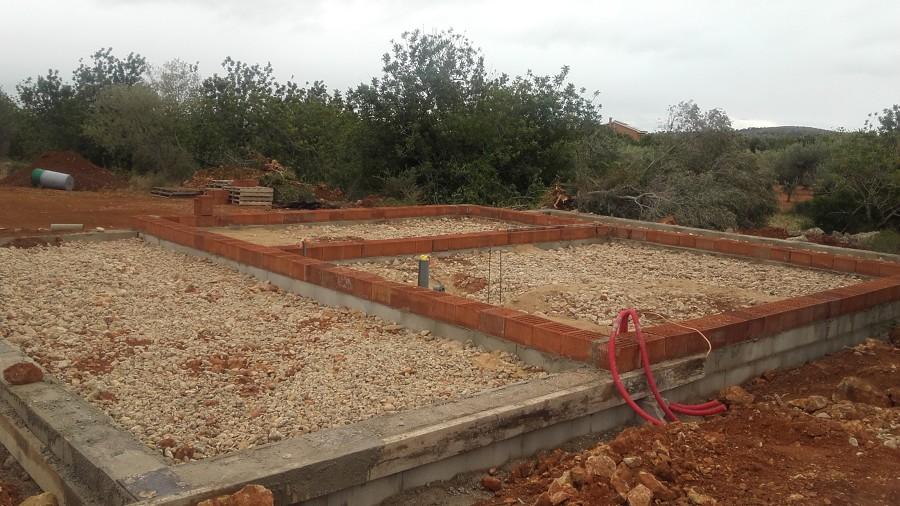 Muro perimetral Solera
