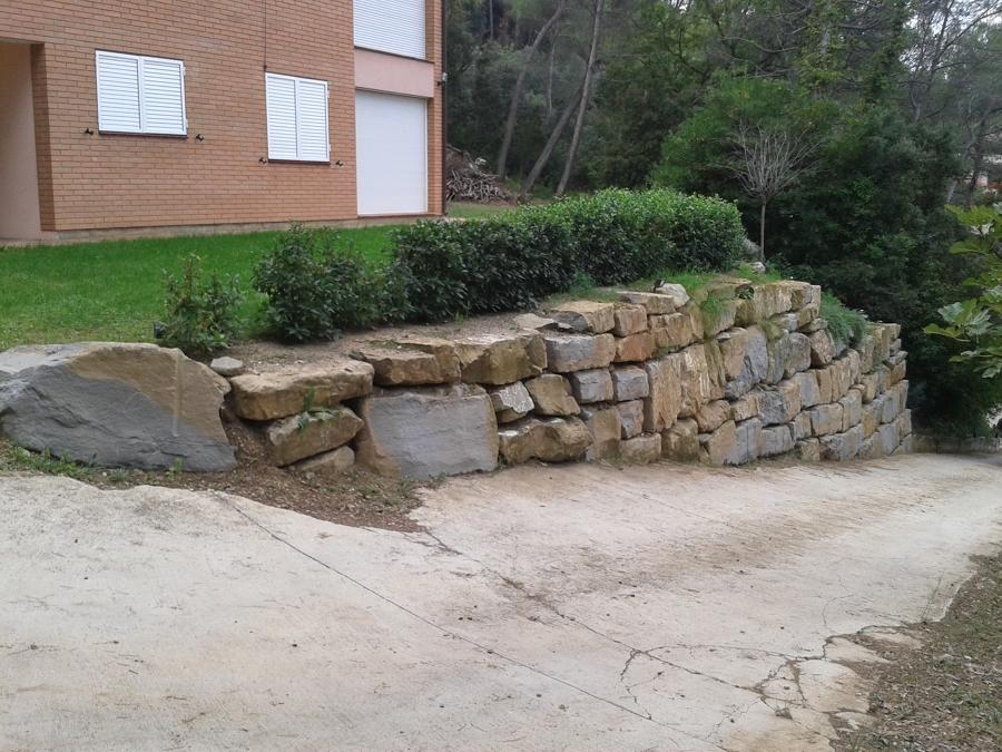 Muros de rocalla ideas construcci n muros - Muros de rocalla ...