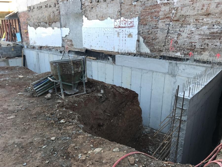Muros de contención a 1 cara