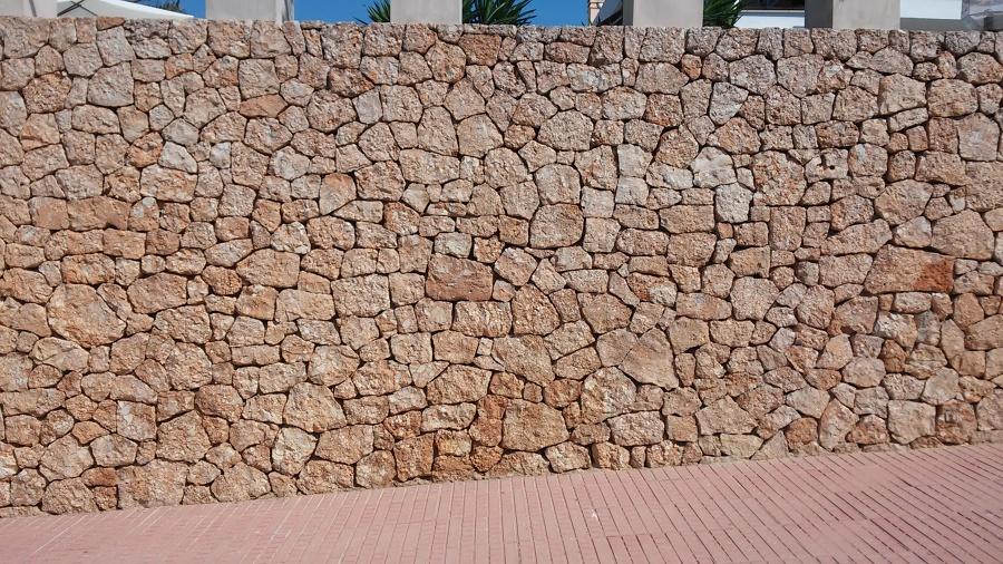 Fotos de trabajos realizados por mi en ibiza ideas - Muros de piedra ...