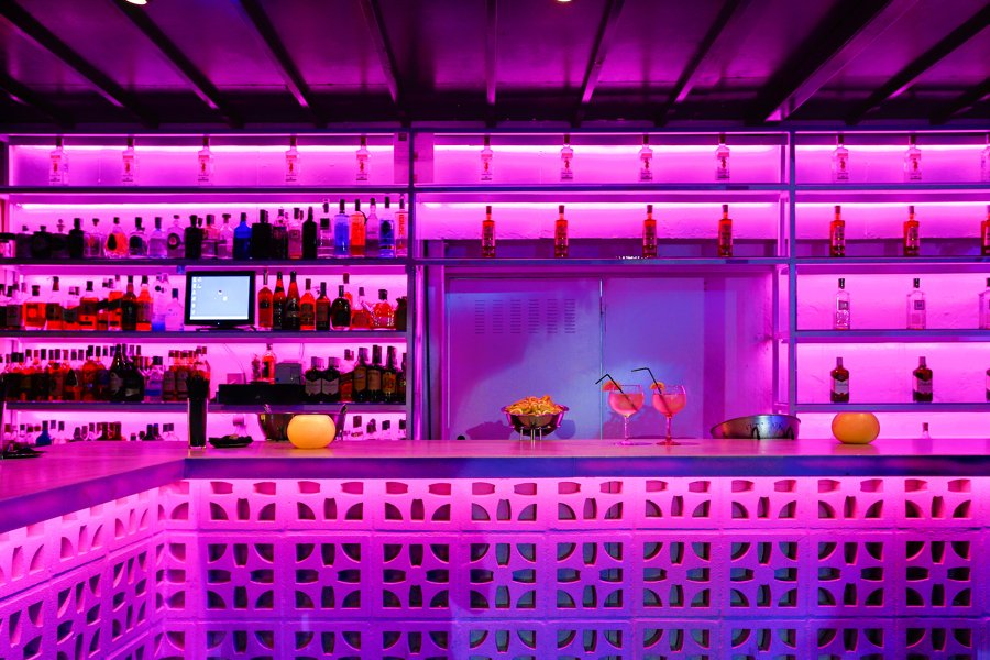 barra discoteca