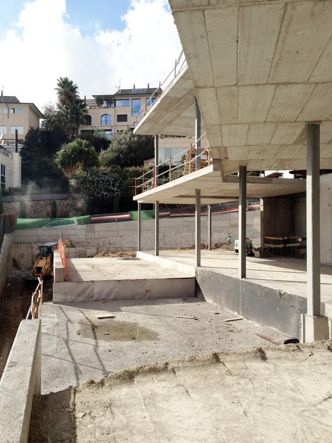 Obra - Vista desde la terraza