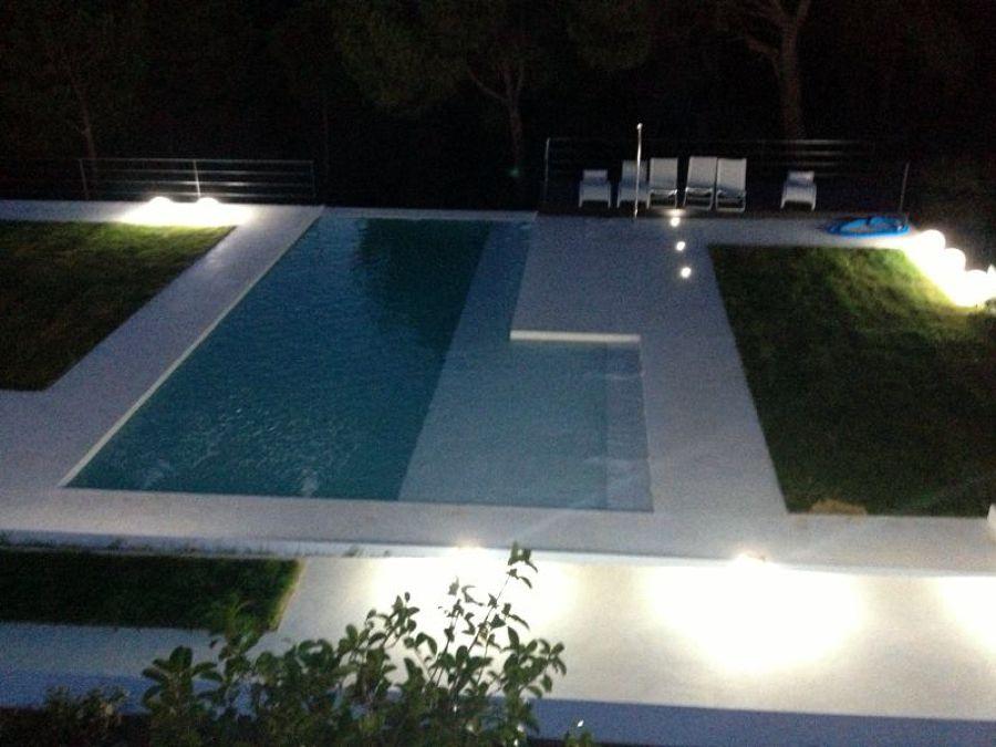 Instalacion de microcemento en exterior y piscina ideas - Microcemento para piscinas ...