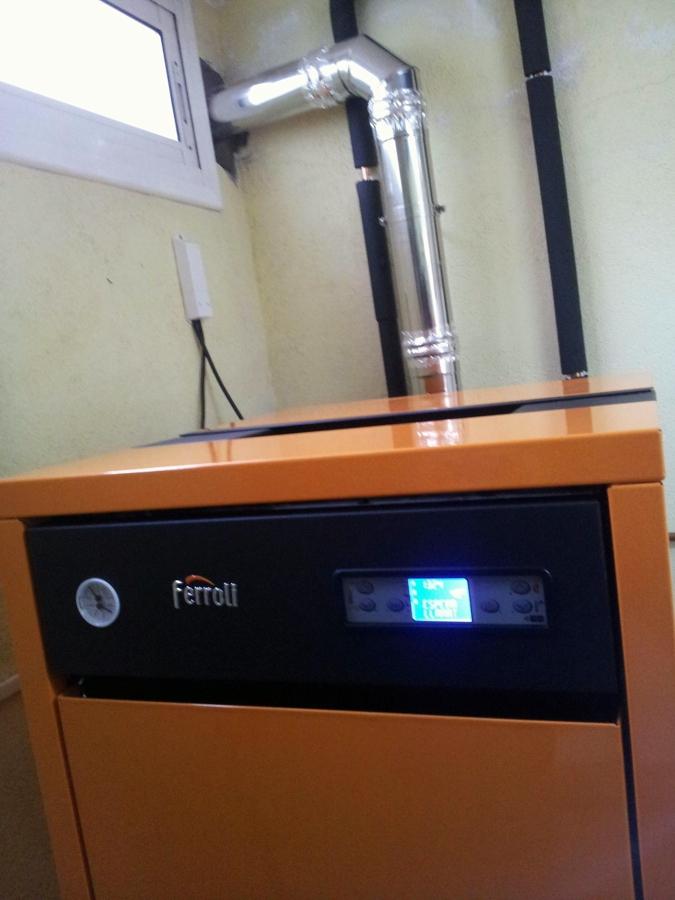 Caldera de pellets acs calefaccion ideas calefacci n - Caldera calefaccion pellets ...