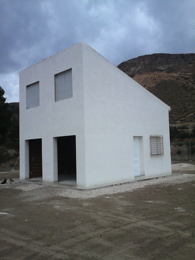 Casa de campo en aledo ideas construcci n casas - Construccion casas de campo ...