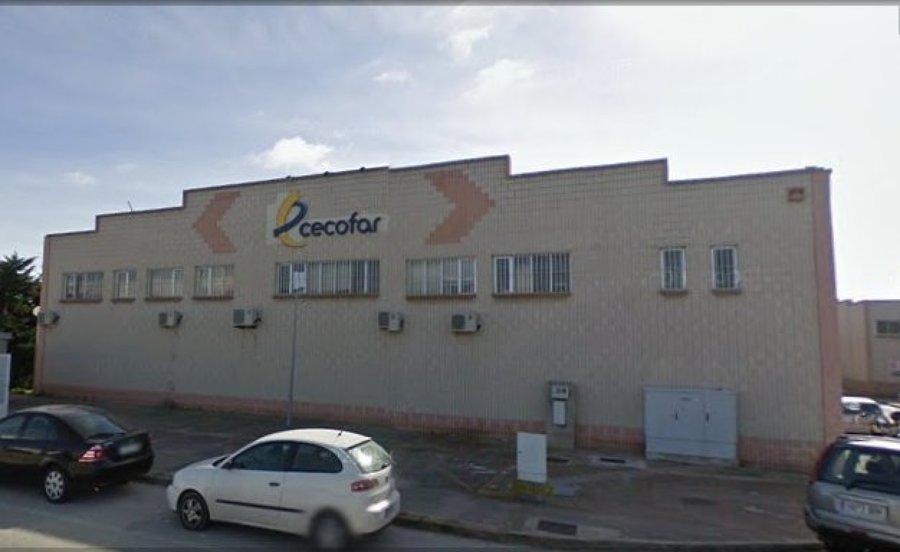 Nave Cecofar en Puerto Real. Cádiz.