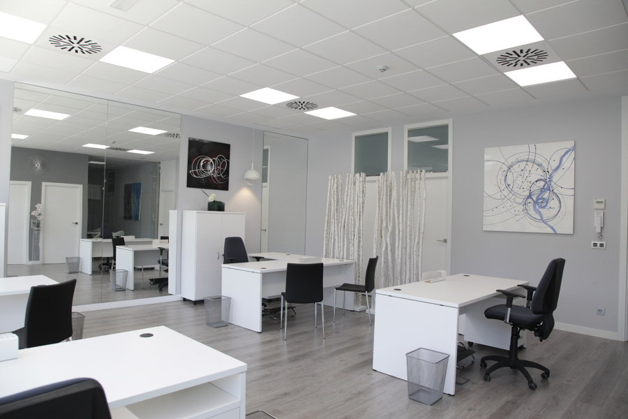 Nave industrial y oficinas ideas reformas naves industriales for Diseno oficinas industriales