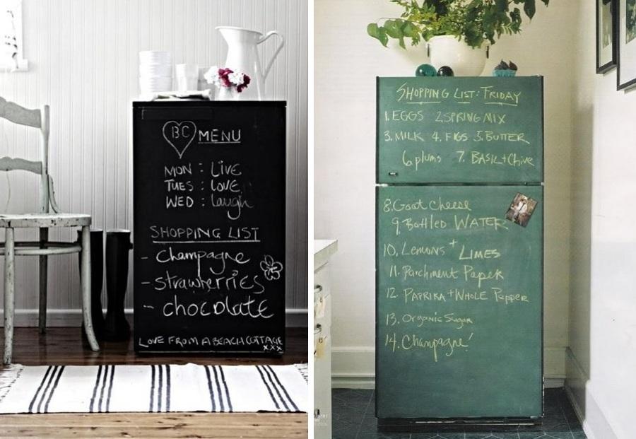 4 ideas para renovar tu casa sin obras y por poco dinero - Pintar pared pizarra ...