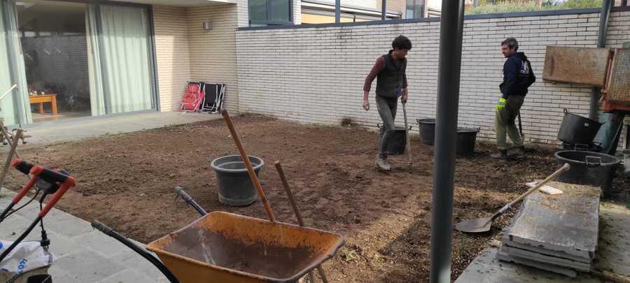 Nivelar el terreno