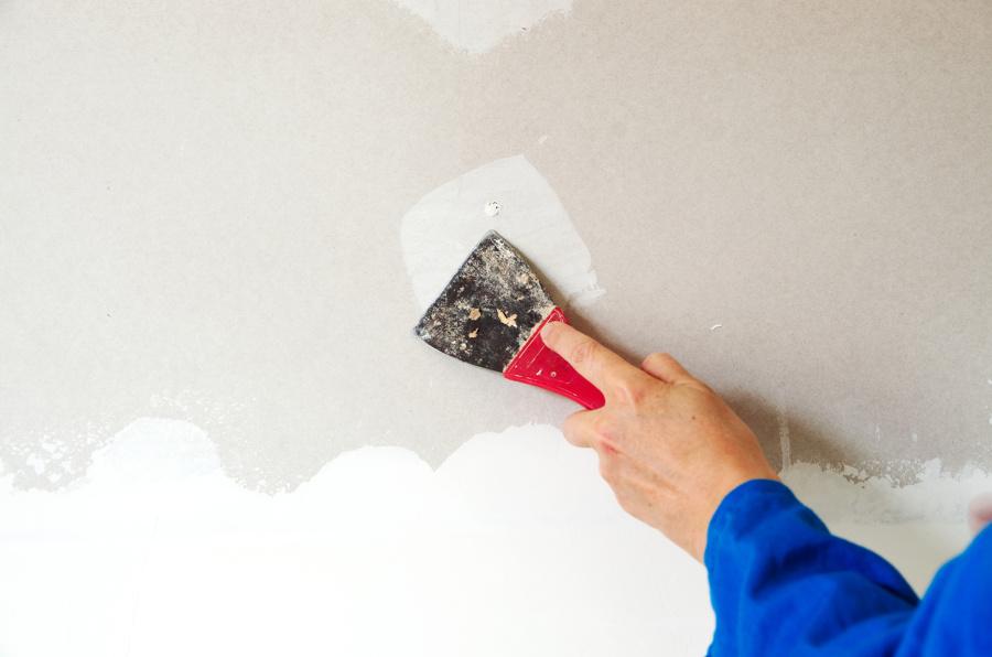 Videoconsejo c mo quitar el gotel de la pared ideas - Como quitar el gotele de la pared ...