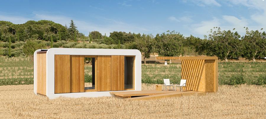 Casas que se construyen en 5 d as ideas construcci n casas - Minicasas en espana ...
