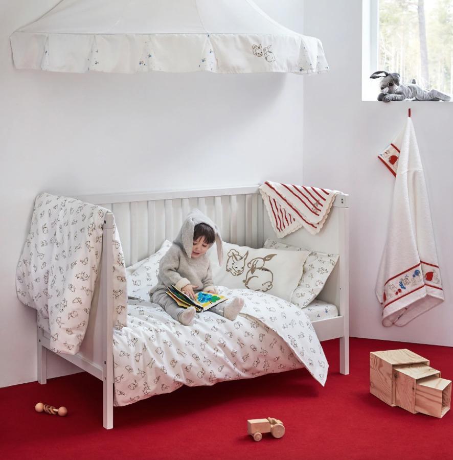 Novedades invierno ropa de cama para bebés IKEA 2019