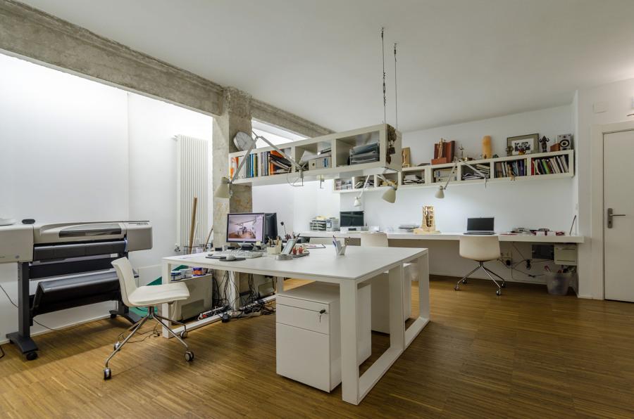 Foto nuestro estudio de arquitectura de arquitectos elsa calvo agustin de diego 457405 - Estudio arquitectura zaragoza ...