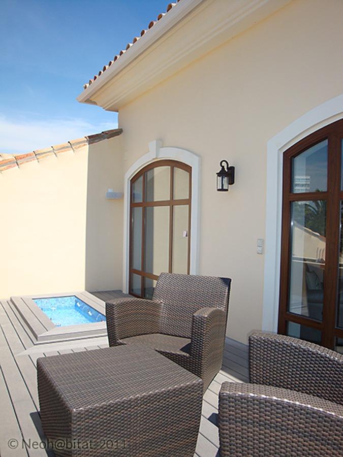 Nueva Terraza en Planta Alta en Vivienda Ampliada en Marbella
