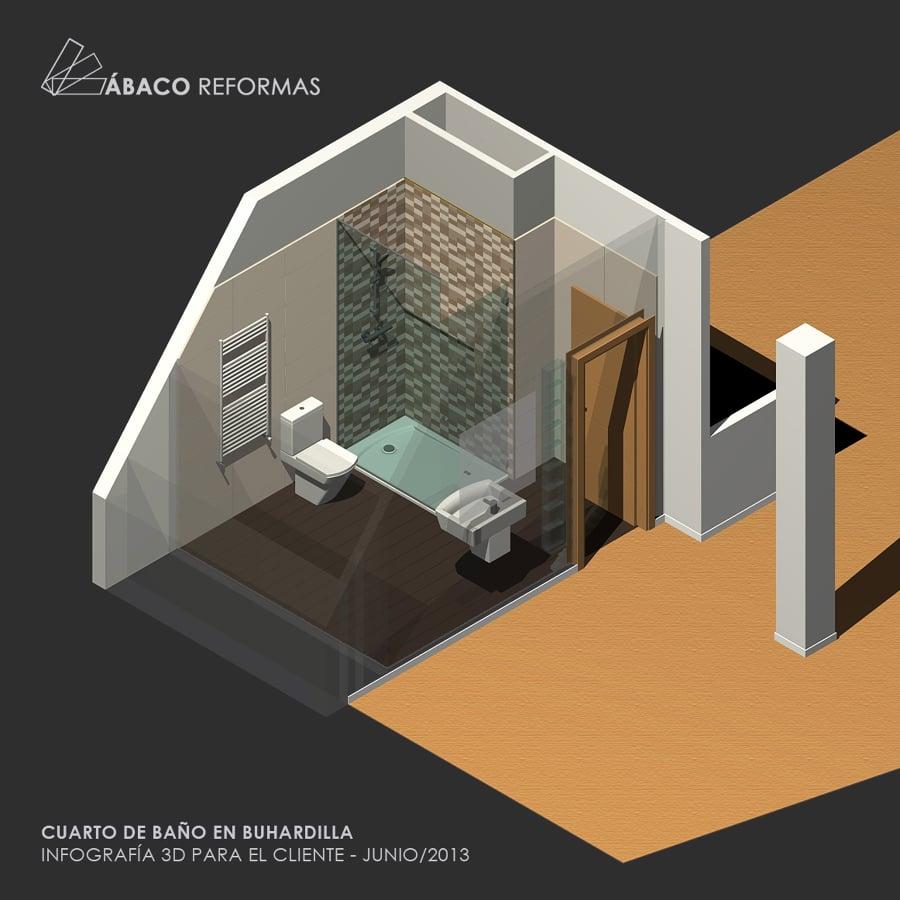Reforma de buhardilla con nuevo cuarto de ba o ideas - Habitaciones en buhardillas ...