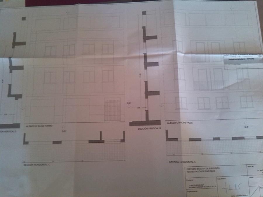 nuevo proyecto rehabilitacion fachadas