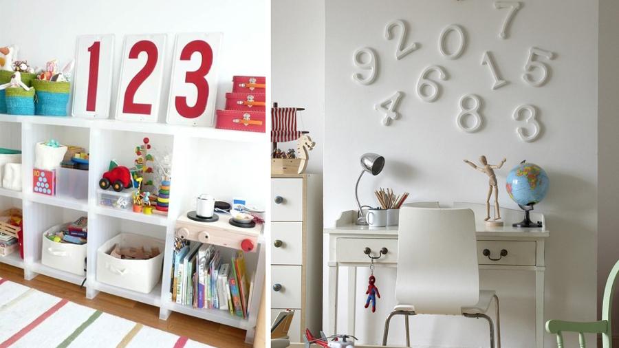 decorar números