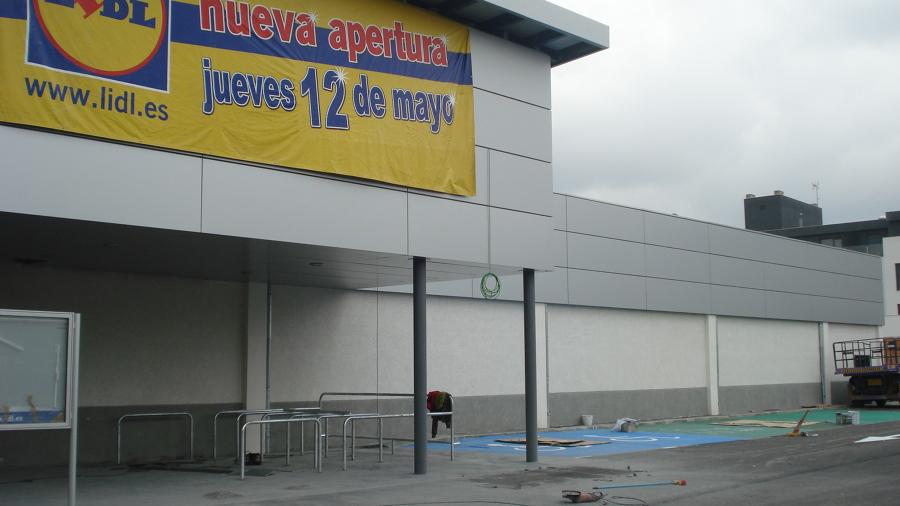 obra de LIDL(Ciudad Real)