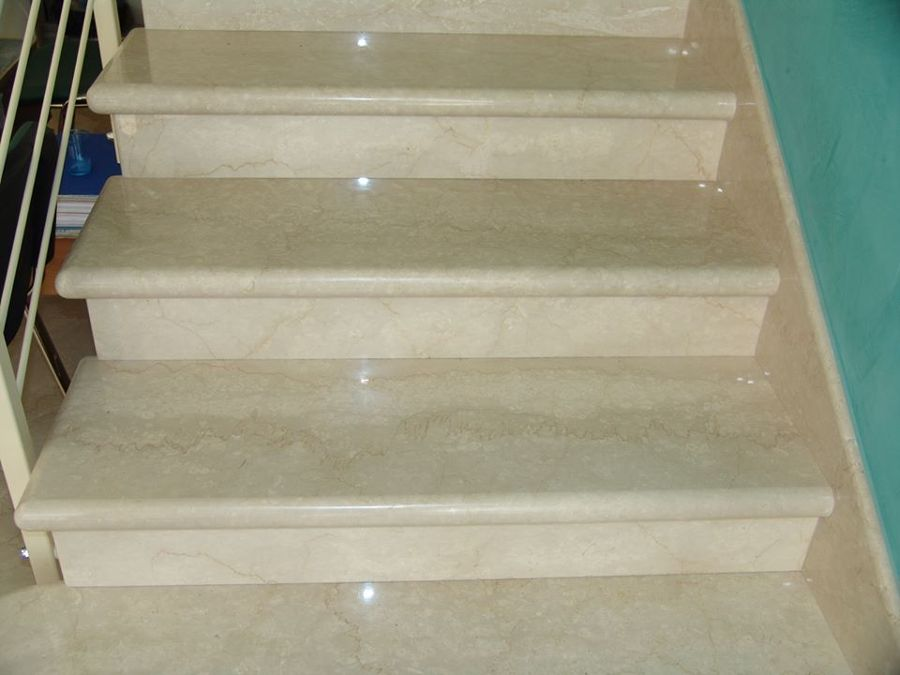 Reformas de marmol granitos y quarzo ideas reformas for Marmo scale interne prezzo