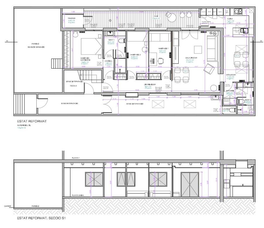 Obra nueva vivienda en nave industrial ideas - Proyectos para construir una casa ...