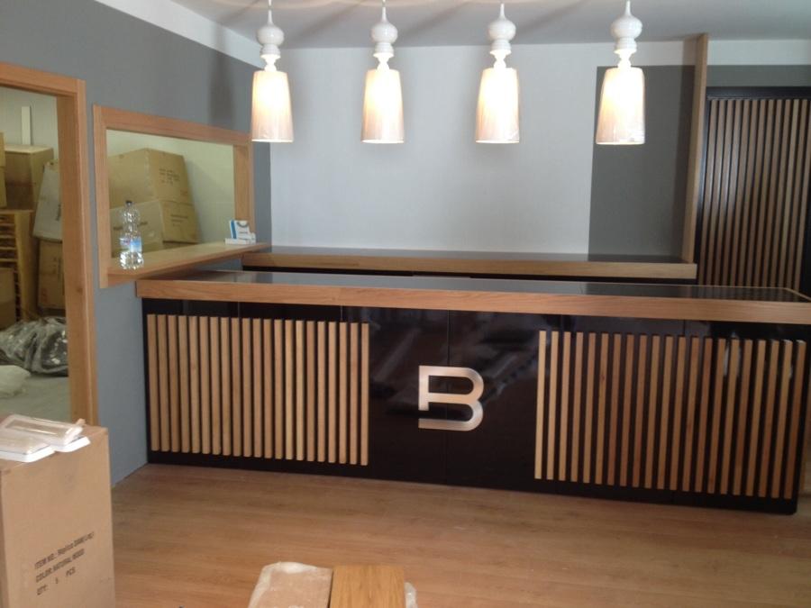 Obra reforma Bar lounge