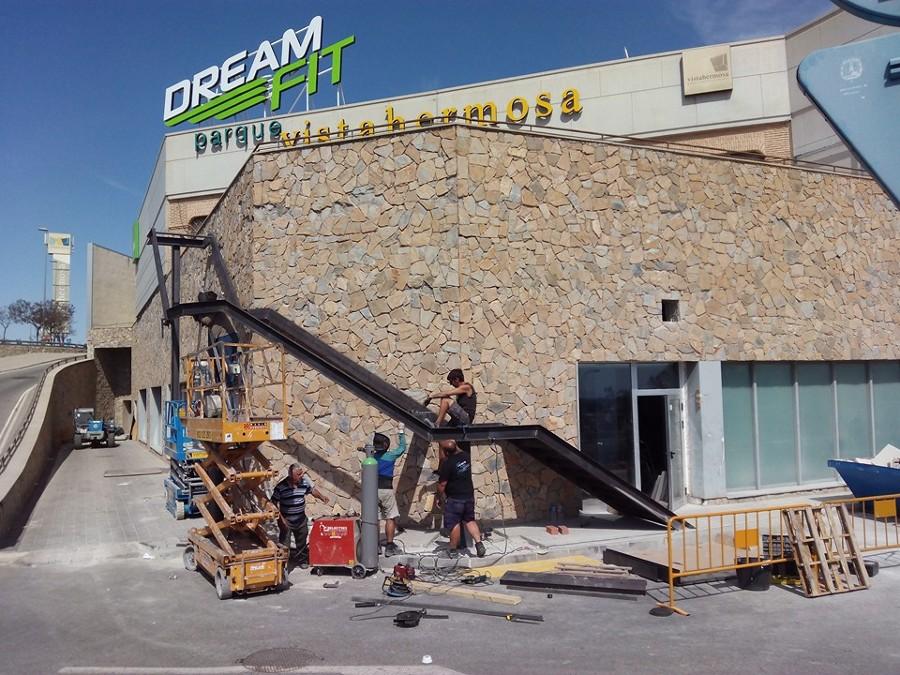 Obra vistahermosa Alicante