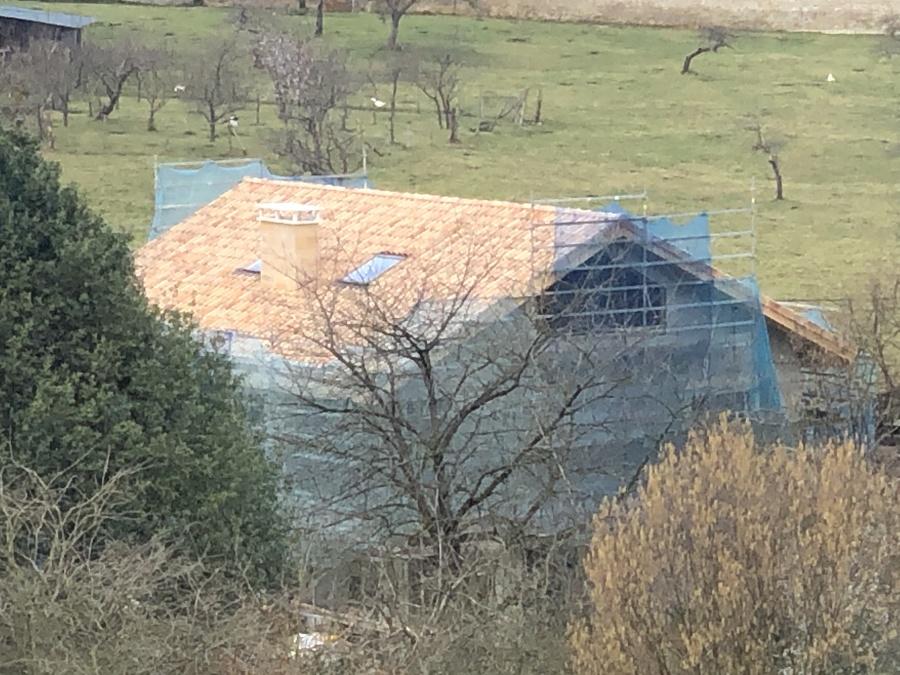 Octavo mes de construcción