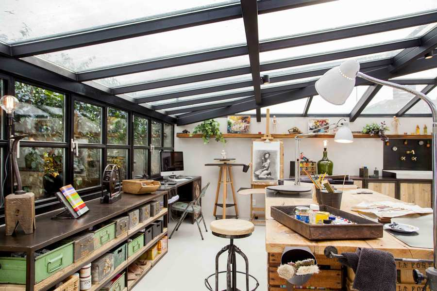 10 oficinas en casa que se merecen un 10 ideas decoradores for Oficinas decoradas con plantas