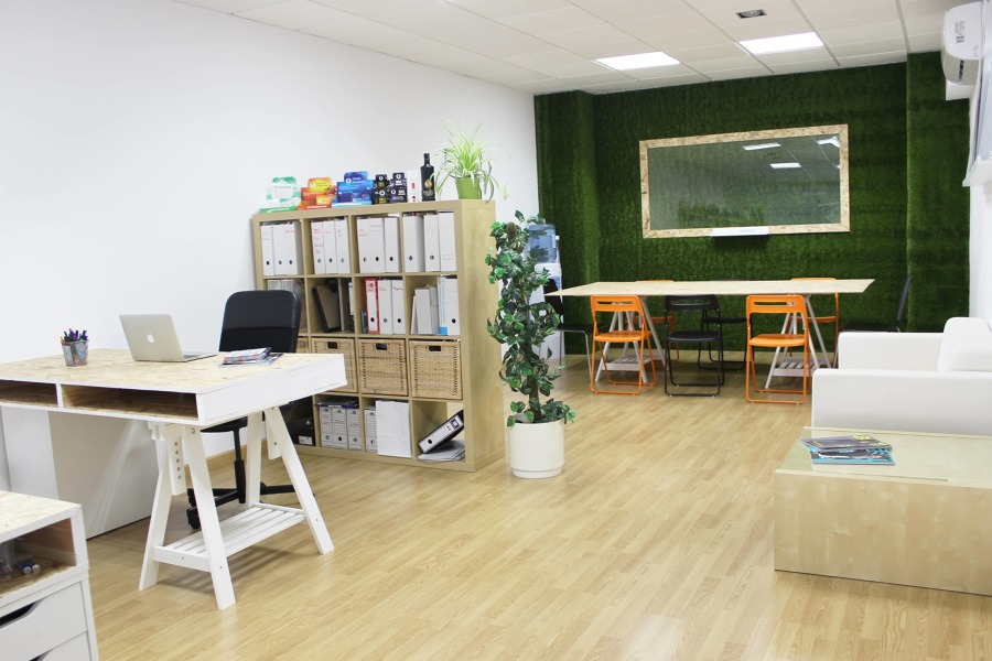 Oficina coworking - Planta superior