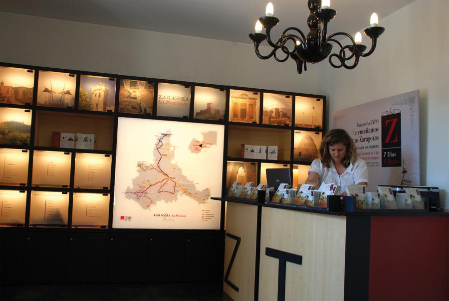 Oficina de Turismo de la Diputación Provincial de Zaragoza