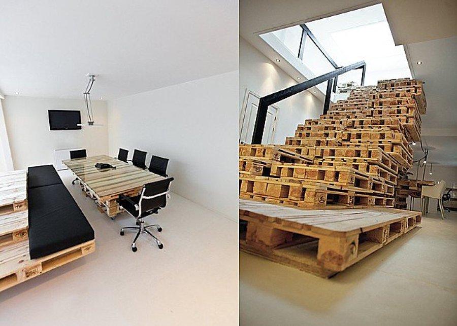 C mo ambientar una oficina moderna reciclada ideas for Ideas para oficinas modernas