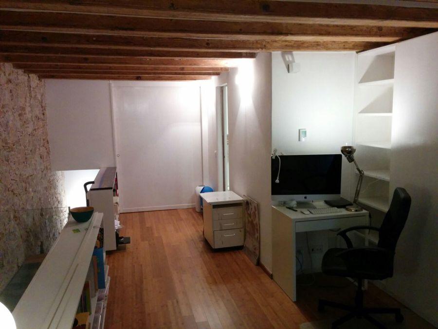 Oficina suelo bamboo