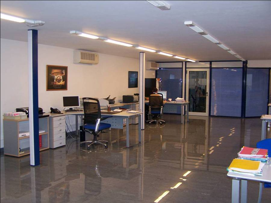 Oficinas, Vista parcial