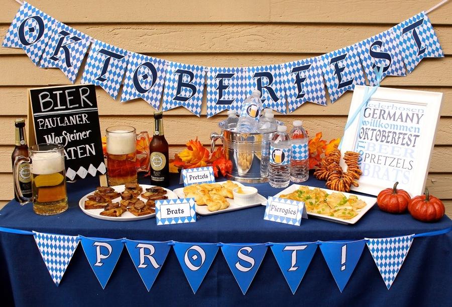 oktoberfest organiza una fiesta de la cerveza en casa